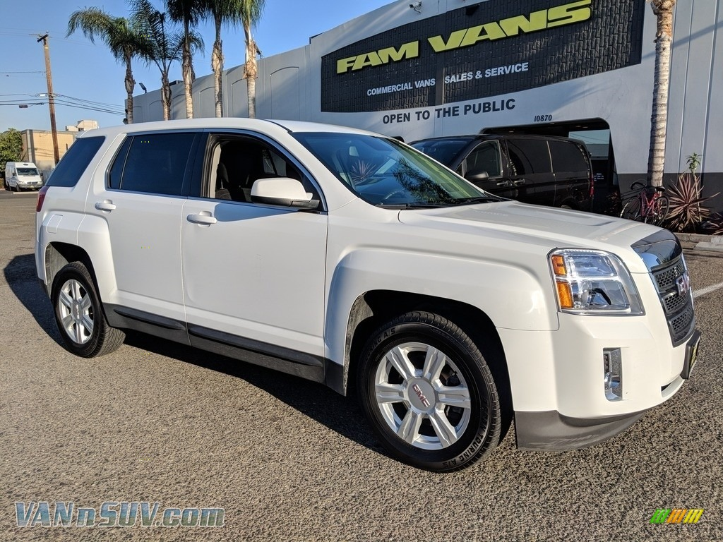 2014 Terrain SLE AWD - Summit White / Light Titanium photo #1