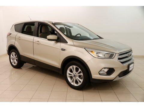 White Gold 2017 Ford Escape SE
