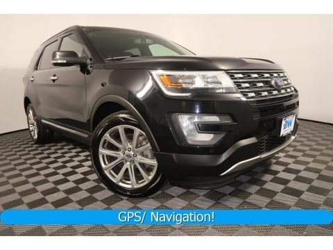 Shadow Black 2017 Ford Explorer Limited 4WD