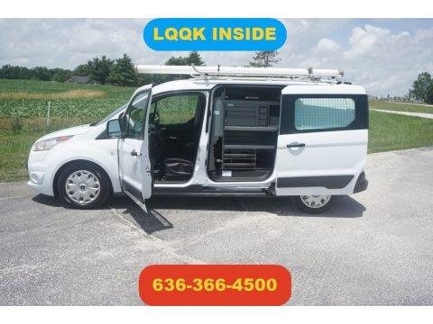 Frozen White 2014 Ford Transit Connect XLT Van