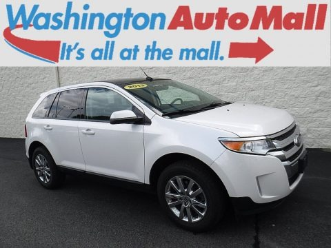 White Suede 2013 Ford Edge SEL AWD