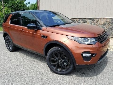 Namib Orange Metallic 2018 Land Rover Discovery Sport HSE