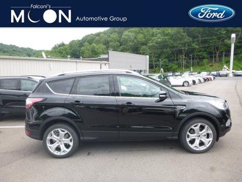 Shadow Black 2018 Ford Escape Titanium 4WD