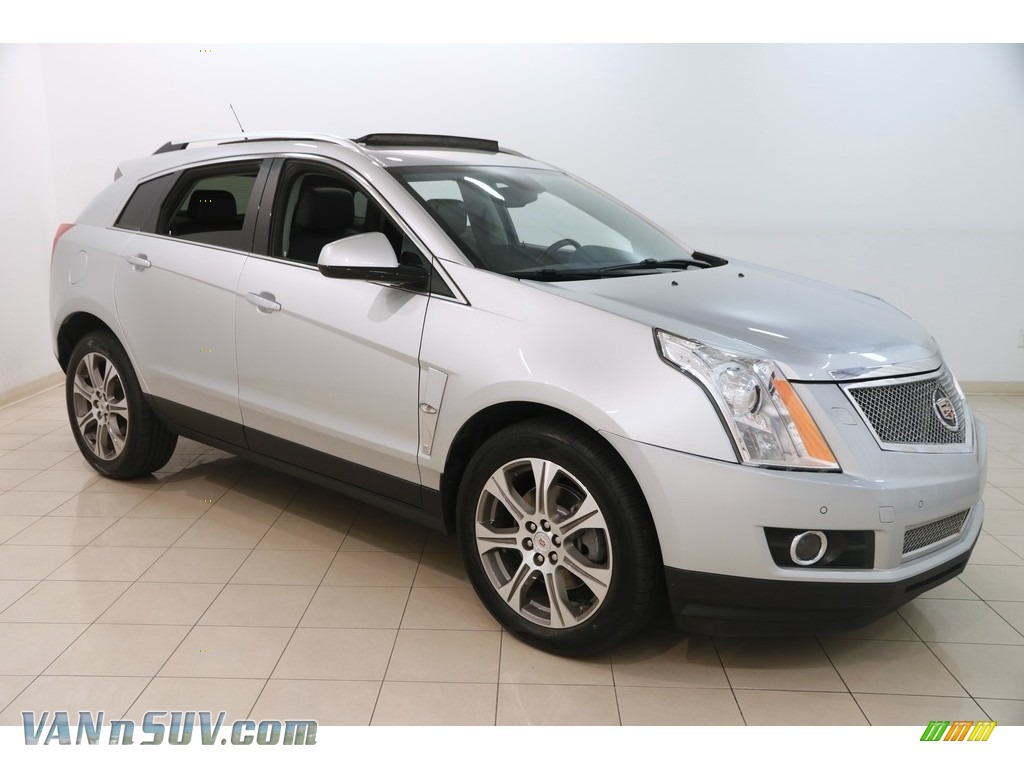 2012 SRX Performance - Radiant Silver Metallic / Ebony/Ebony photo #1