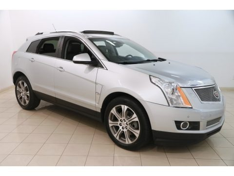 Radiant Silver Metallic 2012 Cadillac SRX Performance