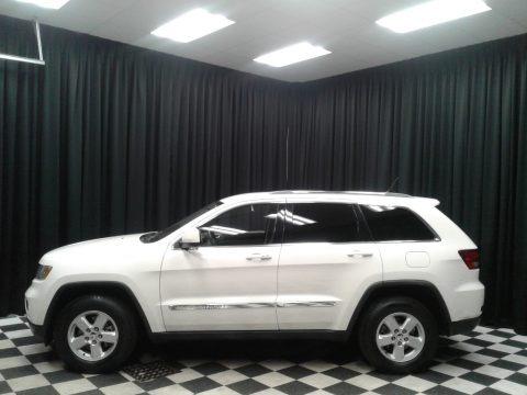 Stone White 2012 Jeep Grand Cherokee Laredo