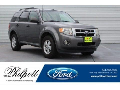 Sterling Grey Metallic 2011 Ford Escape XLT