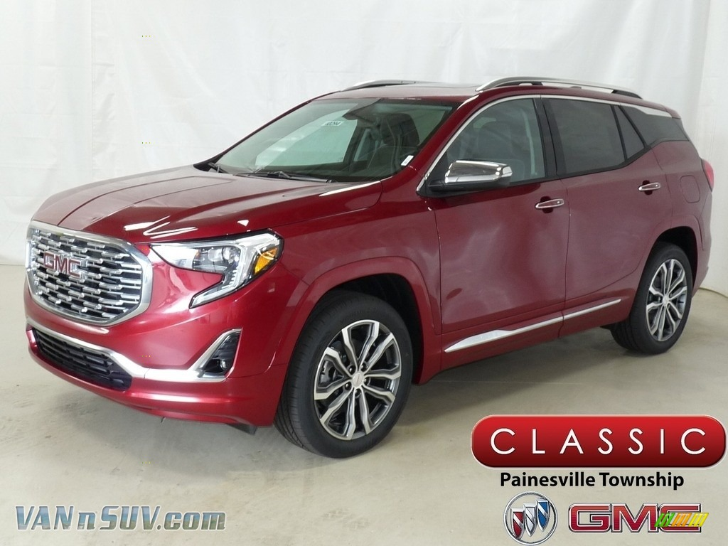 Red Quartz Tintcoat / ­Jet Black GMC Terrain Denali AWD
