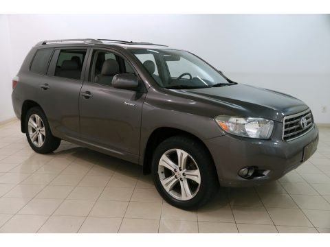 Magnetic Gray Metallic 2009 Toyota Highlander Sport 4WD