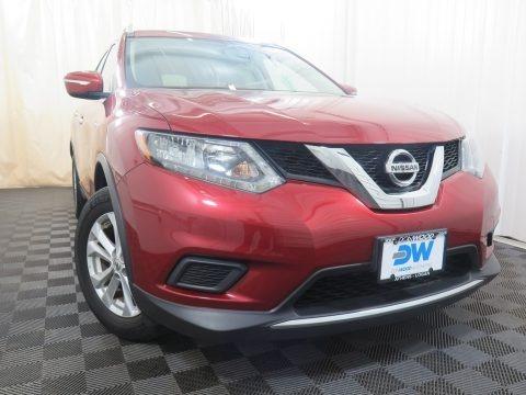 Cayenne Red 2015 Nissan Rogue SV AWD
