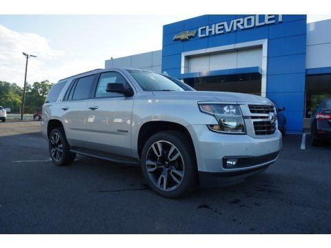 Silver Ice Metallic 2018 Chevrolet Tahoe LT