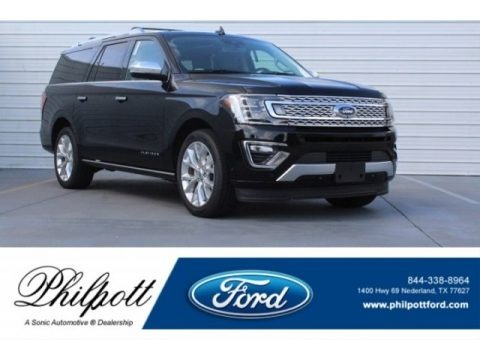 Shadow Black 2018 Ford Expedition Platinum Max