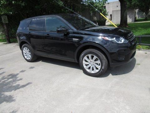 Narvik Black Metallic 2018 Land Rover Discovery Sport SE