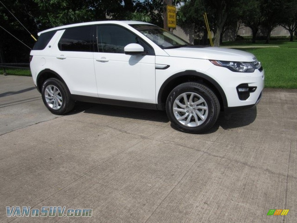 2018 Discovery Sport HSE - Fuji White / Almond photo #1