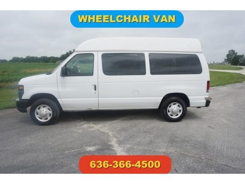 Oxford White 2008 Ford E Series Van E150 Commercial