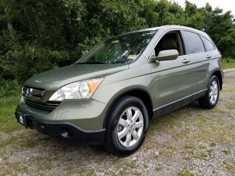 Green Tea Metallic 2007 Honda CR-V EX-L 4WD