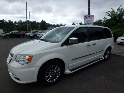 Stone White 2011 Chrysler Town & Country Limited