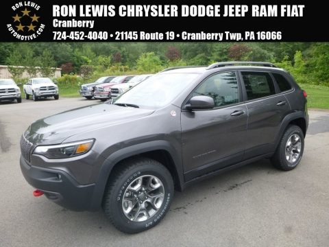Granite Crystal Metallic 2019 Jeep Cherokee Trailhawk 4x4
