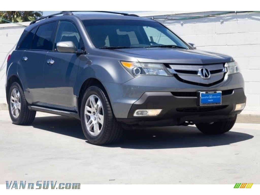 2008 MDX Technology - Sterling Gray Metallic / Ebony photo #1