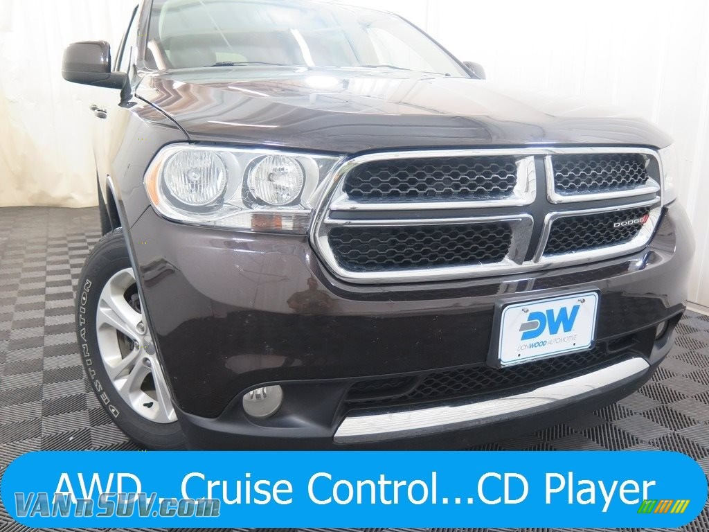 2013 Durango SXT AWD - Rugged Brown Pearl / Dark Graystone/Medium Graystone photo #1