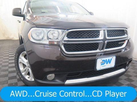 Rugged Brown Pearl 2013 Dodge Durango SXT AWD
