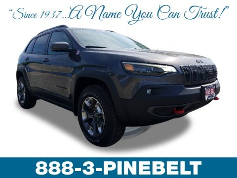 Granite Crystal Metallic 2019 Jeep Cherokee Trailhawk 4x4