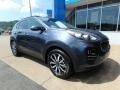 Kia Sportage EX AWD Pacific Blue photo #10