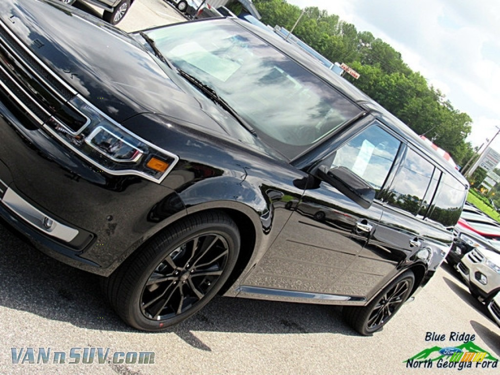 2019 Flex Limited AWD - Agate Black / Dark Earth Gray/Light Earth Gray photo #31