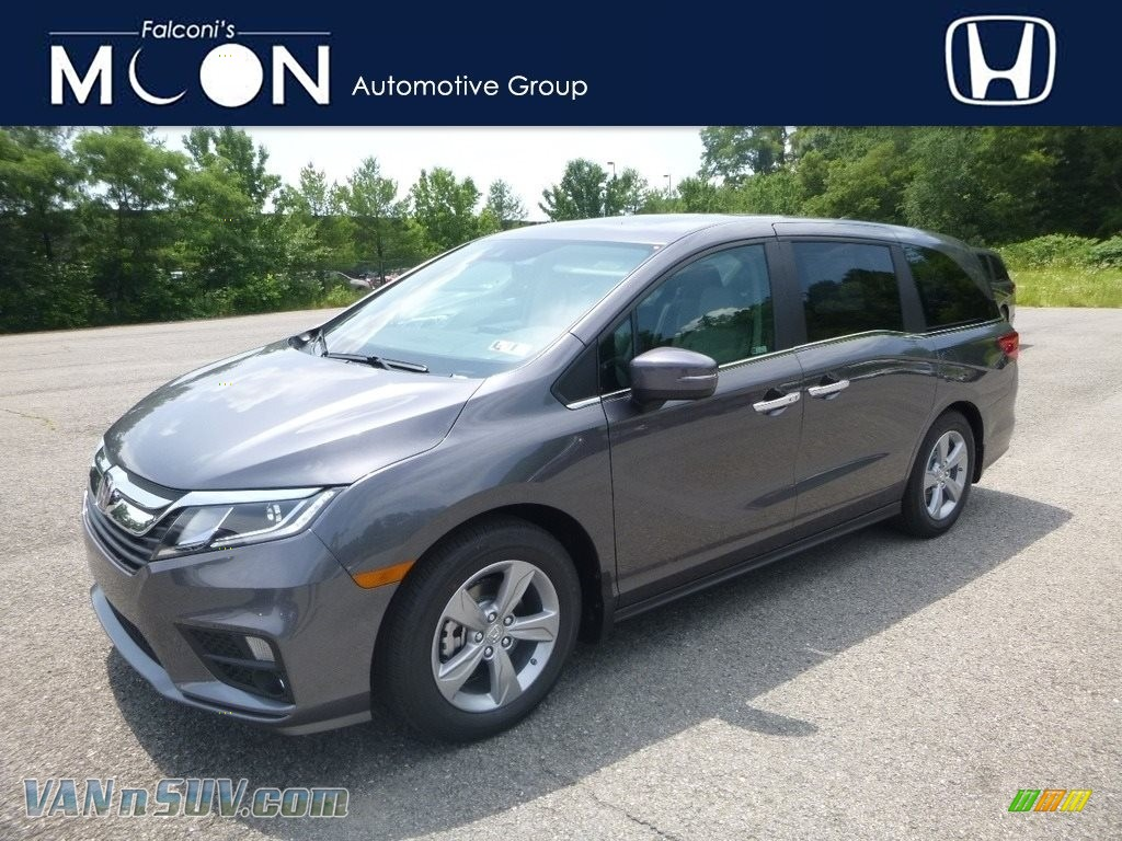 2019 Odyssey EX-L - Modern Steel Metallic / Gray photo #1