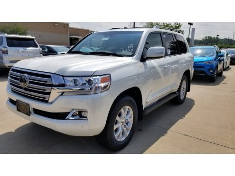 Blizzard White Pearl 2018 Toyota Land Cruiser 4WD