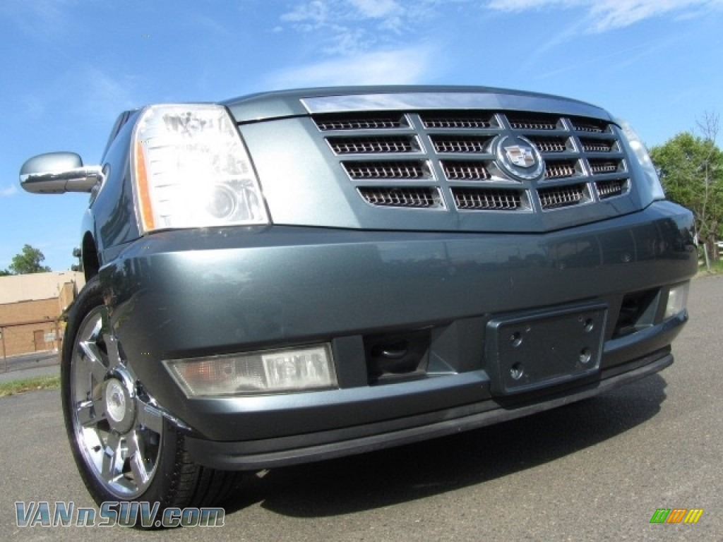 2010 Escalade ESV Luxury AWD - Stealth Gray / Ebony photo #1
