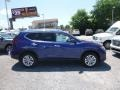 Nissan Rogue S AWD Caspian Blue photo #3