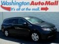 Honda Odyssey EX-L Crystal Black Pearl photo #1