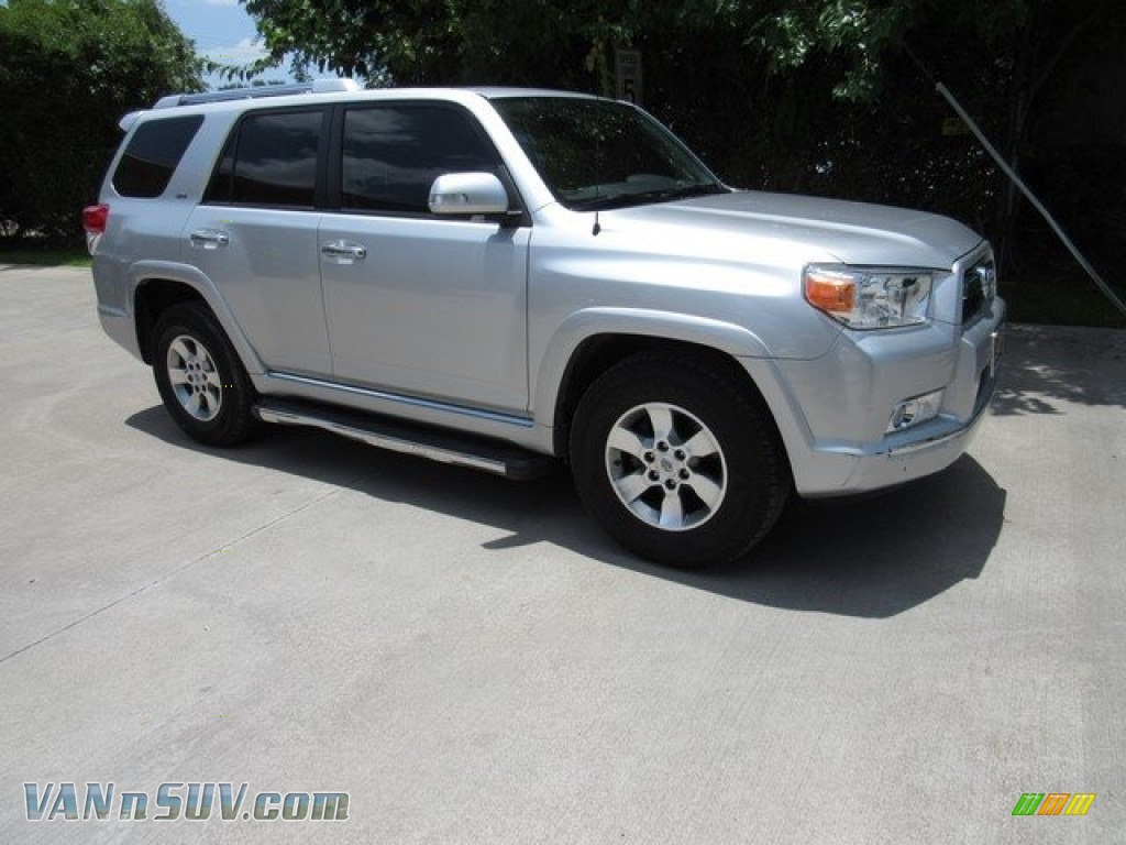 2012 4Runner SR5 - Classic Silver Metallic / Black Leather photo #1