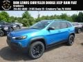 Jeep Cherokee Trailhawk 4x4 Hydro Blue Pearl photo #1