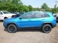 Jeep Cherokee Trailhawk 4x4 Hydro Blue Pearl photo #2