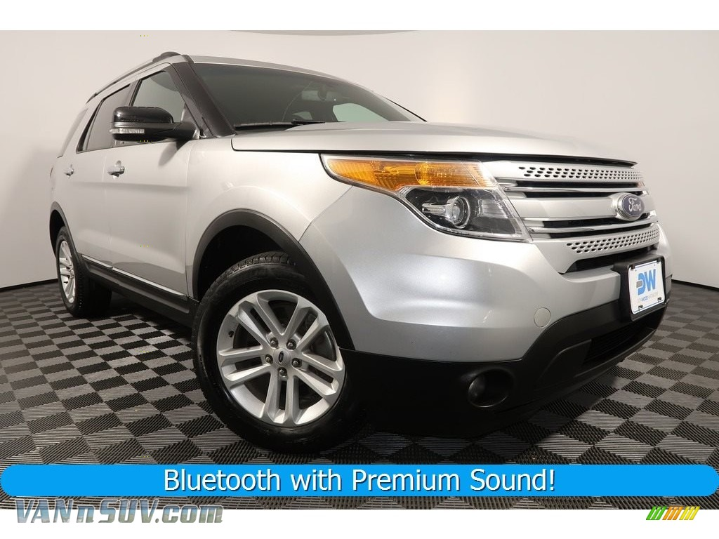 2015 Explorer XLT 4WD - Ingot Silver / Charcoal Black photo #1