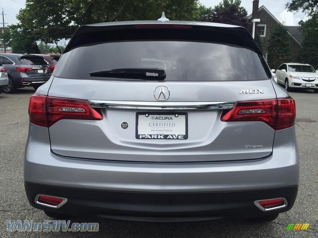 2016 MDX SH-AWD Technology - Lunar Silver Metallic / Ebony photo #4
