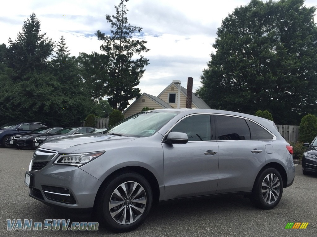 2016 MDX SH-AWD Technology - Lunar Silver Metallic / Ebony photo #7