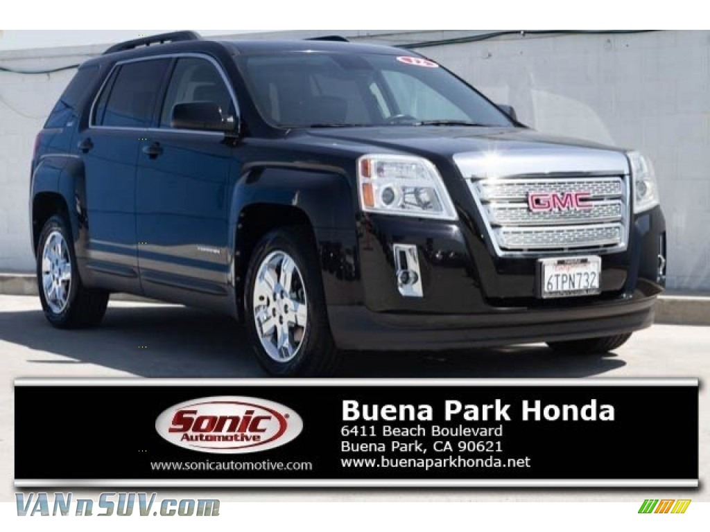 2012 Terrain SLT - Onyx Black / Jet Black photo #1
