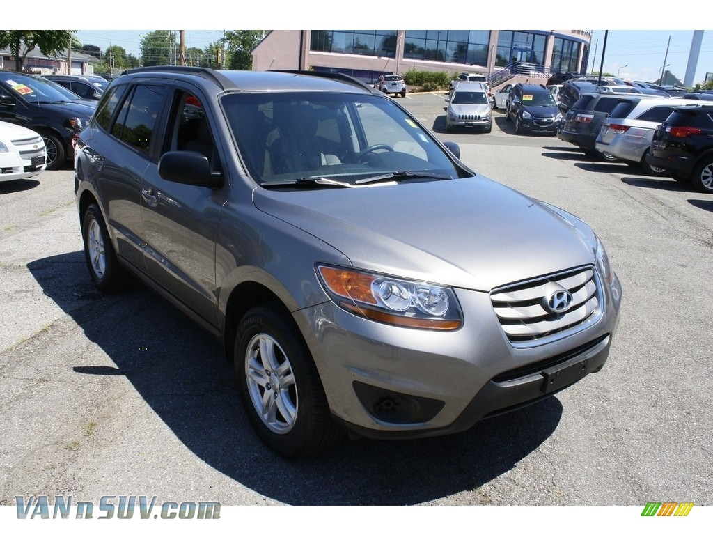 2011 Santa Fe GLS AWD - Mineral Gray / Gray photo #1
