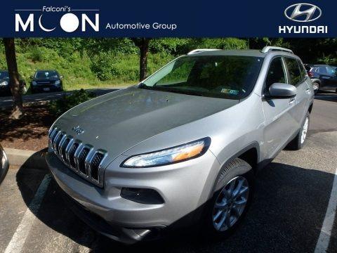 Billet Silver Metallic 2016 Jeep Cherokee Latitude 4x4