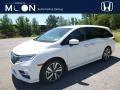 Honda Odyssey Elite White Diamond Pearl photo #1