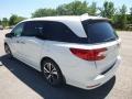 Honda Odyssey Elite White Diamond Pearl photo #2