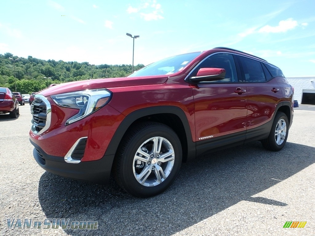Red Quartz Tintcoat / Jet Black GMC Terrain SLE AWD
