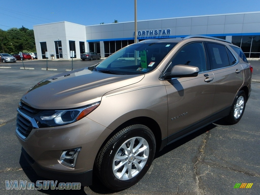 2018 Equinox LT AWD - Sandy Ridge Metallic / Jet Black photo #1
