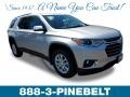 Chevrolet Traverse LT Silver Ice Metallic photo #1