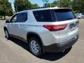 Chevrolet Traverse LT Silver Ice Metallic photo #4