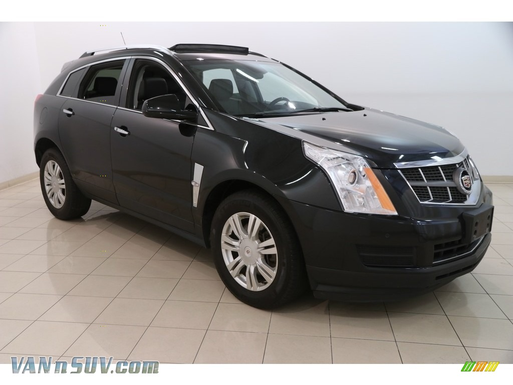 2012 SRX Luxury AWD - Black Ice Metallic / Ebony/Ebony photo #1