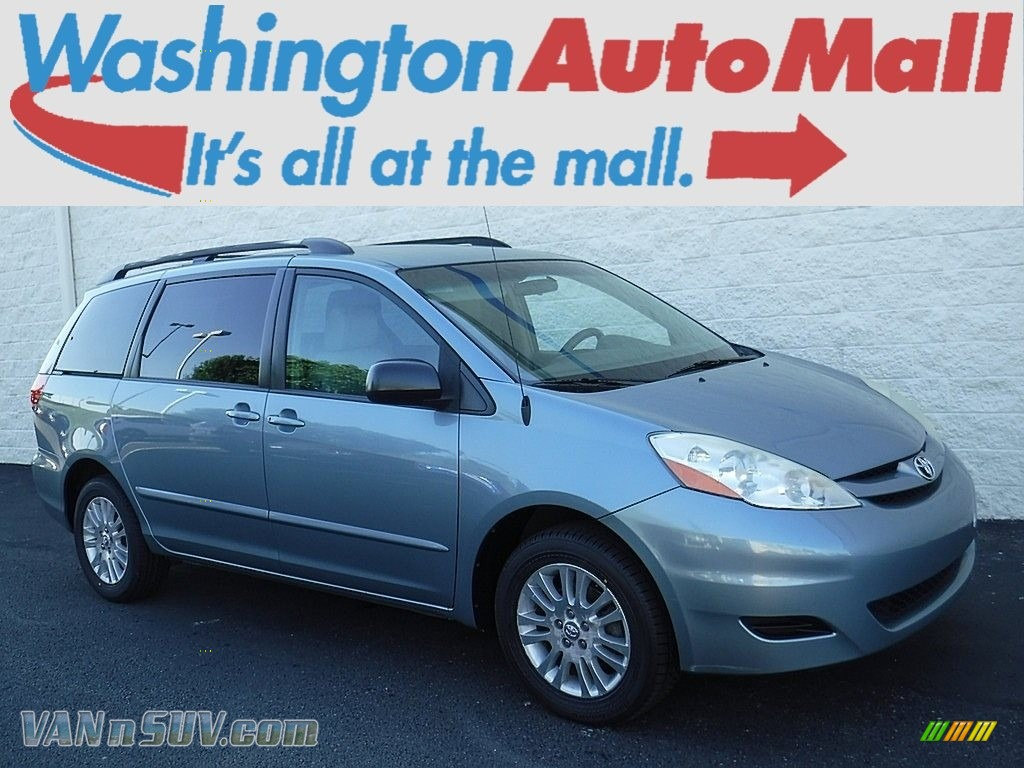 2007 Sienna LE AWD - Blue Mirage Metallic / Stone photo #1